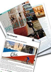 cuba Newspaper CycleActive