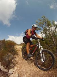 Spain Mountain bike singletrack