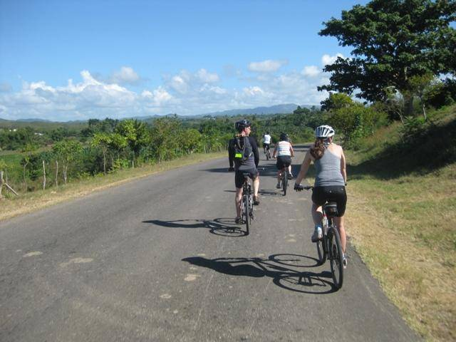 Cuba back country cycling