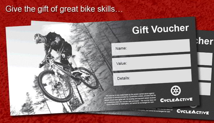 Gift Voucher Mountain Bike Course